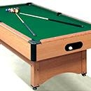 We offer pool, snooker and Karombolage tables...