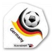 "DARTS Flight ""Germany Football"" 100 Micron"