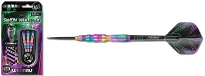 Darts Arrow Set Winmau Simon Whitlock Urban Grip Steeldarts 1408-24 g