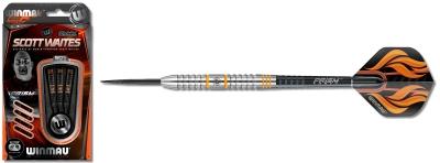 Dart Pfeil Satz Winmau Scott Waites Silver Colour Steeldart 1019-25 g