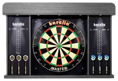 "Darts-Cabinet ""Arena"" with LED-Lighting"