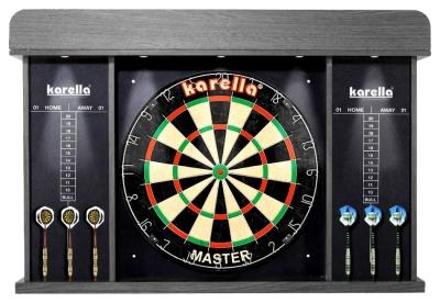 "Dart-Cabinet ""Arena"" mit LED-Beleuchtung"