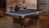 Pool Billardtisch Brunswick Gold Crown VI, 8 Fuß (8 ft.), Skyline Walnuss Nickel
