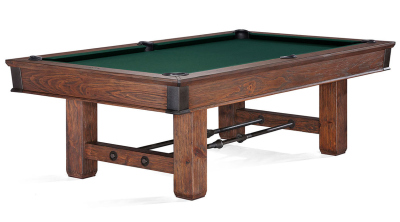 Pool Billiard Table Brunswick 8 Feet (8 ft.) Canton Black Forest