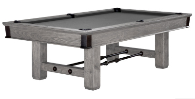 Pool Billardtisch 8 Fuß (8ft) Brunswick Canton Rustic Grey