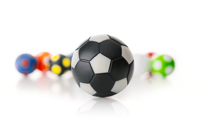 Kickerball Winspeed by Robertson 35 mm, black / silver
