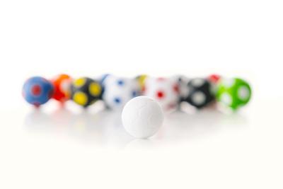 Kickerball Winspeed by Robertson 35 mm, green / white
