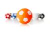 Kickerball Winspeed by Robertson 35 mm, orange / weiß