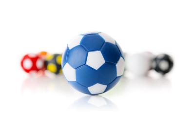 Kickerball Winspeed by Robertson 35 mm, blau / weiß