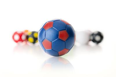 Kickerball Winspeed by Robertson 35 mm, blau / rot