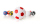 Kickerball Winspeed by Robertson 35 mm, weiß / rot
