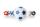 Kickerball Winspeed by Robertson 35 mm, white / blue