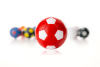 Kickerball Winspeed by Robertson 35 mm, rot / weiß