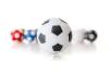 Kickerball Winspeed by Robertson 35 mm, weiß / schwarz