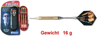 "Softdart Unicorn PHIL TAYLOR World Champion ""Golden Hero"" 16 g"