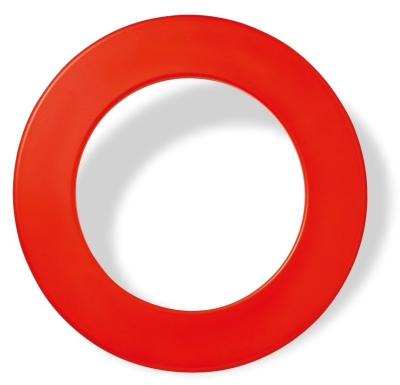 Karella Dartboard Surround / Catchring, PU rot