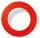 Karella Dartboard Surround / Catchring, PU red