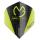 Dart-Fly Winmau MvG PRISM DELTA 6915-207 schwarz - grün
