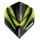 Dart-Fly Winmau MvG PRISM ALPHA 6915-145 black - green