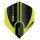Dart-Fly Winmau MvG MEGA, Standard Form, 6900-232 schwarz - grün