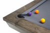 Pool Billiardtable Brunswick Edingburgh weathered oak base 8 ft.