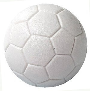 Kickerball Standard color: white, diameter: 34 mm, Game Feature: smooth, hard