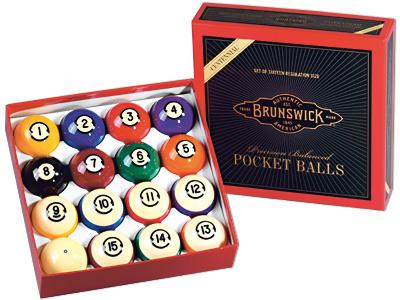 Pool Ball Set 57,2mm Brunswick Centennial