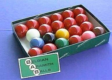 """Kugelsatz Snooker Aramith """"Premier"""" Durchmesser 52,4 mm"""