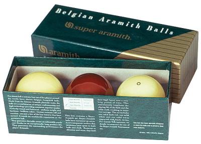 Carom Ball Set Super Aramith 61,5 mm