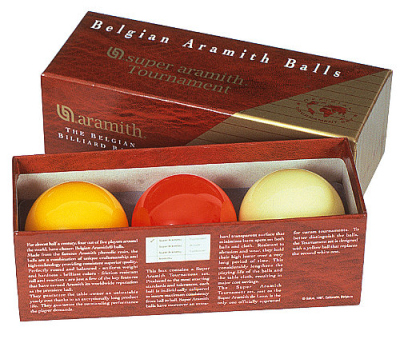 Ball Set Carom Aramith Tournament 61,5mm
