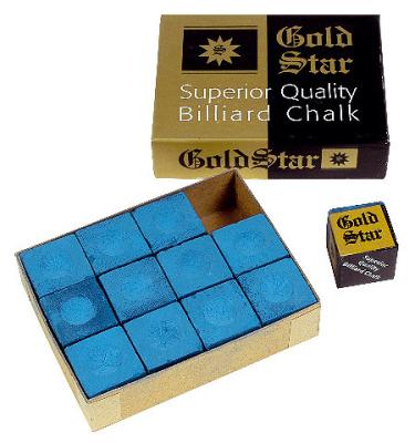 Chalk Gold Star Blue