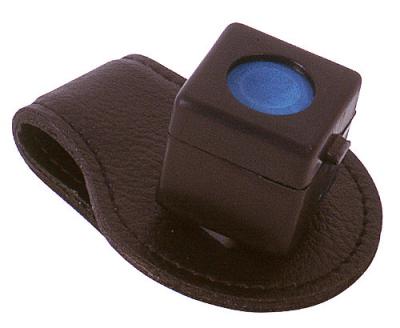 Chalk holder magnetic clip leather