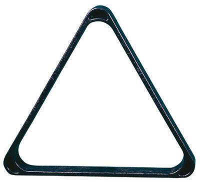 Triangel für Kugeln Pool Professional 57,2mm schwarz