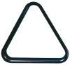 Triangel für Kugeln Pool Pvc 57,2 mm schwarz