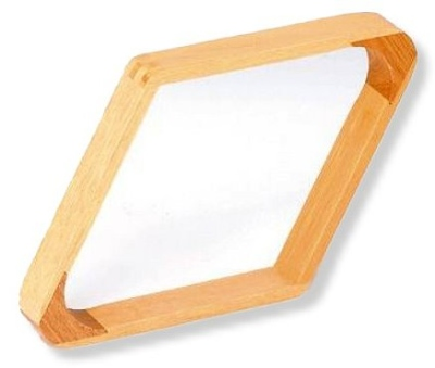 Rhombus für Kugeln 57,2 mm Pool 9-Ball aus Holz