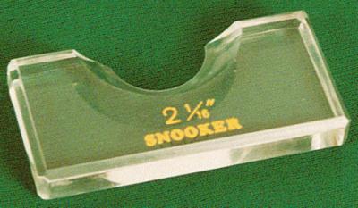 Ball marker Snooker Postitionsmerker