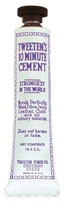 Queue-Lederkleber Zement