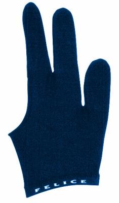 Billiard gloves Felice dark blue