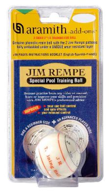 Trainingsspiel mit Trainingskugel 57,2 mm von Jim Rempe