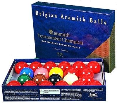 Kugelsatz Aramith Snooker Tournament TV 52,4 mm