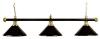 Billiard Lamp London 3 x black