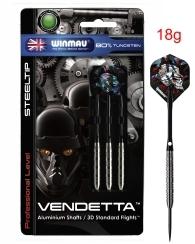 Darts Arrow Set Winmau Vendetta Steeldart 18 g