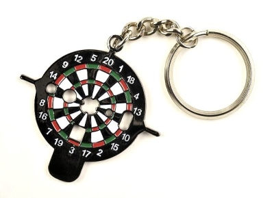 "Dart Key ""Dartboard"" as a Key Ring. With various tool functions."