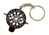 Dart Key Dartboard as a Key Ring. With various tool...