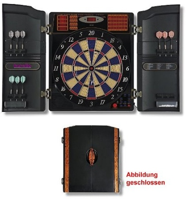 Dartboard Electronics CB 90 in Cabinet for Softdarts