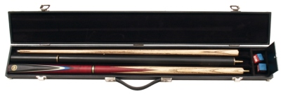 Buffalo SB-1 with two extensions and trunk, Snooker Cue