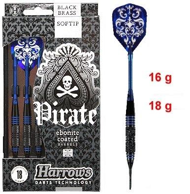 "Dart Pfeil Satz Harrows ""Pirate"" Softdart"