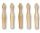 Kegel (Set=5 St.) für Kegelbillard