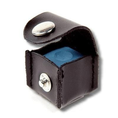 Chalk holder leather case cube