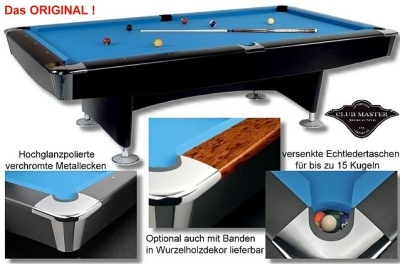Pool Billardtisch Club Master